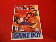 Disney's Aladdin Nintendo Game Boy Vidpro Promotional Display Card ONLY