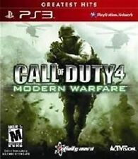 PLAYSTATION 3 PS3 GAME CALL OF DUTY 4 MODERN WARFARE BRAND NEW & SEALED