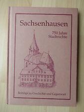 1995. Sachsenhausen, 750 Jahre Stadtrecht, Beiträge zu Geschichte und Gegenwart.