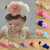 Sweety Baby Girls Lace Flower Hair Band Headwear Kids Headband Decoration Gifts