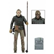 Jason Voorhes Friday The 13th Scale Action Figure Ultimate Part 6 VI 18cm NECA