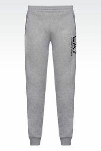 Pantalon Pants Jogging Sport EMPORIO ARMANI EA7 Slim Fit Gris Grey T.XL