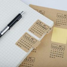 Memo Pad Sticky Notes Planner Calendar Sticker Stationery Office School Supplies