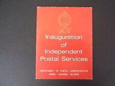 Jersey inauguración de Independiente-paquete de presentación de servicios postales - 1969