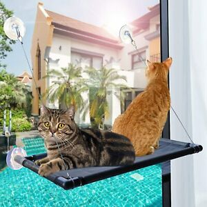Cat Window Hammock Hanging Window Perch Bed Seat Sun Bathing Hammock