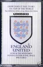 ENGLAND UNITED - ON TOP OF THE WORLD 1998 UK CASSINGLE 3 LIONS SPICE GIRLS