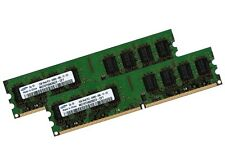 2x 2GB 4GB SAMSUNG RAM PC Arbeitsspeicher DDR2 800 Mhz DIMM PC2-6400 PC6400