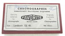 Landeron cal. 48, Sortiment Chronografenteile, Favorite Ref. 4739/5, swiss made