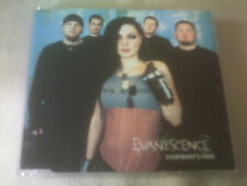 EVANESCENCE - EVERYBODY'S FOOL - 4 TRACK CD SINGLE