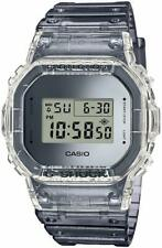 Casio G-Shock DW-5600SK-1 Digital Skeleton Clear Gray Resin Men's Watch
