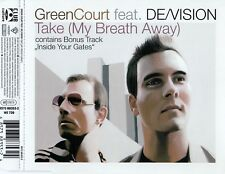 GREEN COURT FEAT. DE/VISION – TAKE (MY BREATH AWAY) / CD - TOP-ZUSTAND