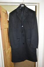 Milano - Lanificio F.lli Cerruti - Mens Cashmere Black Overcoat