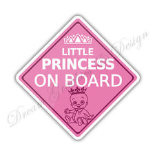 Baby on Board Child Full Color Adhesive Vinyl Sticker Window Car Bumper #055