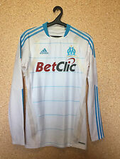 Olympique Marseille France Player Issue Techfit football shirt maglia ADIDAS