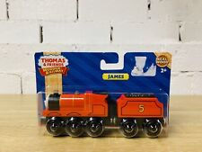James - Thomas & Friends Wooden Railway Trains RARE Brand New