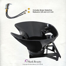Shampoo Bowl Sink with a Tilt Mechanism Salon Spa Equipment TLC-B36-WT