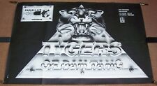 TYGERS OF PANTANG NWOBHM STUNNING RARE 1981 FRENCH PROMO AND CONCERT POSTER