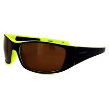 Gafas de sol de hombre azul marrón de plástico