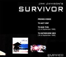 Jimi Jamison'S Survivor @Live Dvd ! Empires,Baywatch,Rocky 4 Iv Soundtrack Aor