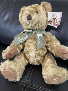 Harrods 100th Anniversary Jointed 18 Inch Teddy Bear