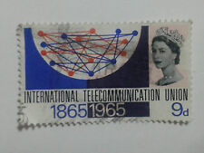QUEEN ELIZABETH 11 - STAMP - 9d