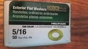 HILLMAN - EXTERIOR LOCK WASHERS - 5/16 IN - 50PC - TAN - 260721 - 038902095008