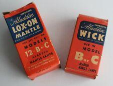Aladdin Lox-On Mantle Wick Old Stock Unused B or C Model Oil Lamps Wicks