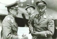 WW II  German   Photo ---- Adolf Galland & Officer