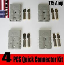 4PCS HEAVY DUTY 175 AMP CONNECTOR BATTERY TERMINALS PLUG,QUICK CONNECTOR