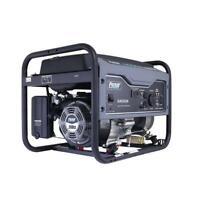Pulsar 4650 Watt Portable Gasoline Generator Space Gray 30 Amp RV Ready G465GN