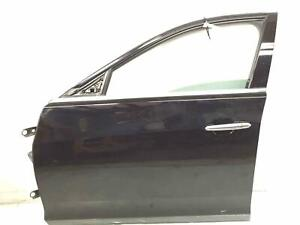 2014 - 2019 CADILLAC CTS SEDAN FRONT LEFT DRIVER DOOR SHELL BLACK *SCRATCHED*