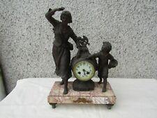 ancienne horloge  pendule
