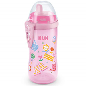 NUK First Choice+ Kiddy Cup Toddler Cup   12 Months+   Leak-Proof Toughened   &