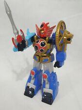 """Power Rangers Figurine Ninja Storm Lightning Megazord 5""""  2002 Accessories Used"""