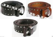 Unbranded Leather Punk Belts for Men