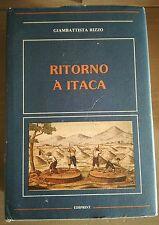 Storia locale Sicilia Siracusa Melilli RITORNO A ITACA G. Rizzo Ediprint 1988