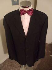 "HUGO BOSS 'Einstein/Sigma' Men's Charcoal Suit Jacket C40"" Reg (EUR50) W/Blend"