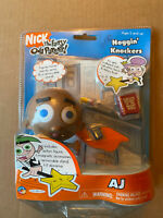 Fairly Odd Parents Jakks Noggin' Knockers AJ Figure New
