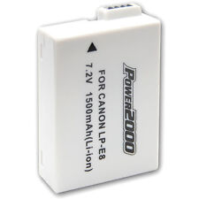 Power2000 LP-E8 Battery for Canon EOS T2i, T3i, T4i, T5i, 550D, 600D, 700D LPE8