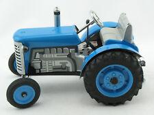 Blechspielzeug - Traktor Zetor blau, von KOVAP -NEUHEIT 2015-      0380-b