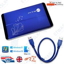 "Hard Disk Drive Enclosure USB 3.0 2.5"" External SATA HDD Case Caddy Cover Box"