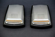 MERCEDES BENZ G CLASS W463 LED TURN SIGNAL LAMPS LIGHTS MANSORY STYLE CLEAR OEM