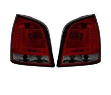 VW POLO 9N 2005 2006-2009 ROUGE SMOKE VT345 TOP SET FEUX ARRIERE ENSEMBLE LED