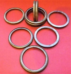 42mm OD, 34mm ID COPPER AND FIBRE EXHAUST GASKETS SEAL HEADER GASKET RING    f42