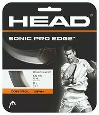 (0,91 €/M) Head Sonic Pro Edge 16 1,30 mm 12 M Tennis Strings Tennis Strings