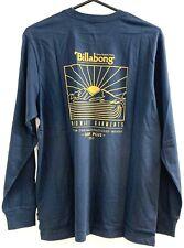 Billabong Sierra Surf+ LS Long Sleeved Surf Tee T-Shirt, Size L. NWT, RRP $59.99