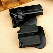 Right Handed Rotary Defense Roto Holster + Double magazine Pouch Set for PT1911