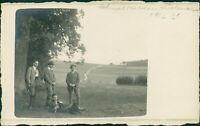 Ansichtskarte Foto-PK Schmalkalden Personen 1916  (Nr.9610)