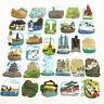 Hot 1pc Tourist Attractions Creative Resin Fridge Magnet Home Accessories New