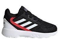 Scarpe da bambino Adidas EG3937 sneakers sportive per ginnastica basse tela